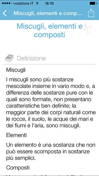 ichimica Pro2-app per iPhone