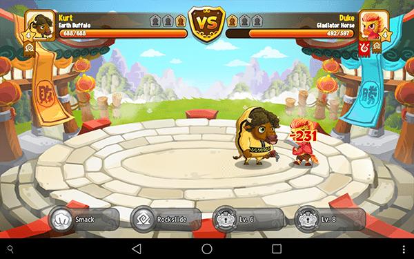 kung fu pets5-giochi per android-avrmagazine