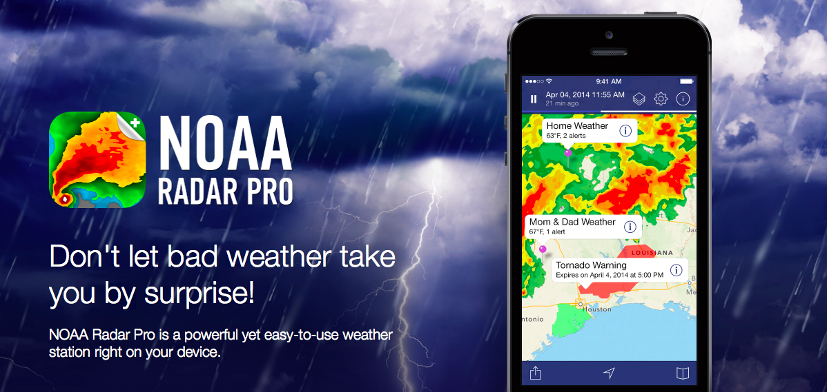 radar Meteo Pro app per iPhone avrmagazine