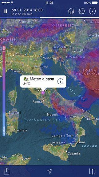 radar Meteo Pro app per iPhone avrmagazine1