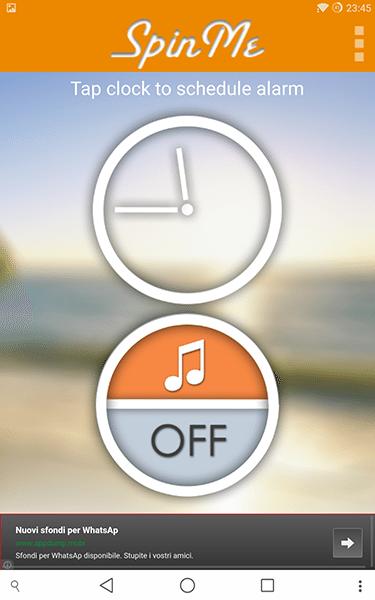 spinme alarm clock2-app per android e ios-avrmagazine