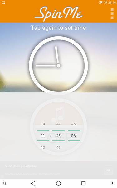 spinme alarm clock3-app per android e ios-avrmagazine