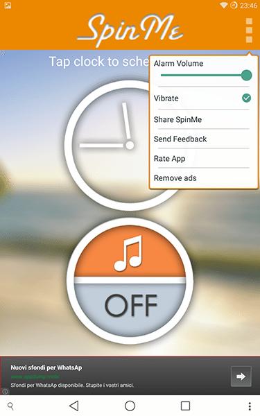 spinme alarm clock4-app per android e ios-avrmagazine