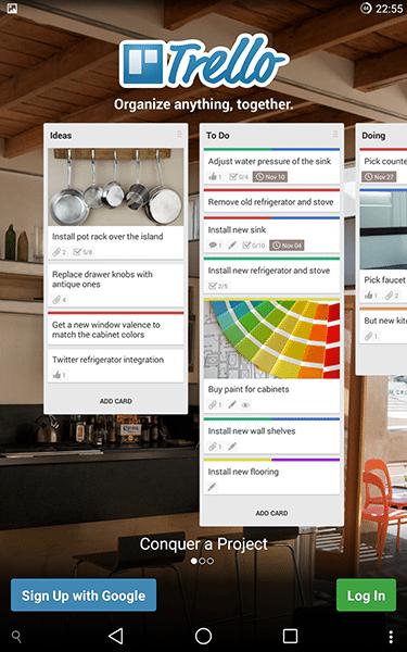 trello-app per android-avrmagazine