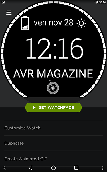 watchmaker5-app per android-avrmagazine.