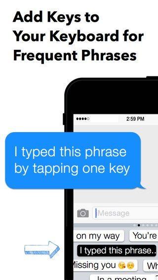 My Phrases Keyboard applicazioni per iPhone avrmagazine1