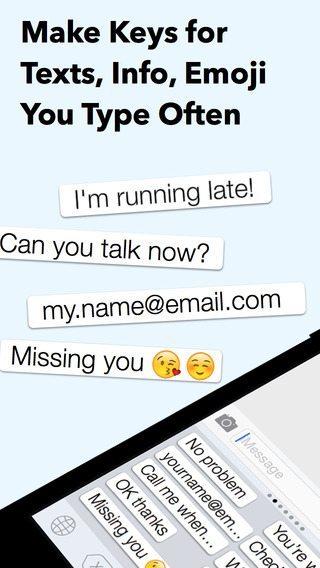 My Phrases Keyboard applicazioni per iPhone avrmagazine2