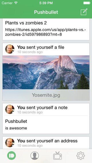 PushBullet applicazioni per iPhone avrmagazine 1