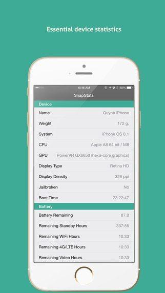 SnapStats giochi per iPhone avrmagazine 1