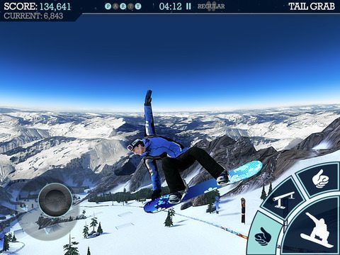Snowboard Party gicohi per iPhone avrmagazine 3