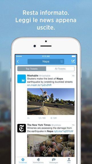 Twitter Analytics applicazioni per iPhone avrmagazine