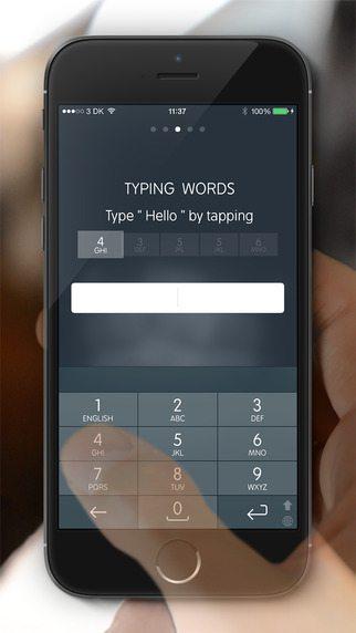 Type Nine Keyboard applicazioni per iPhone avrmagazine 1