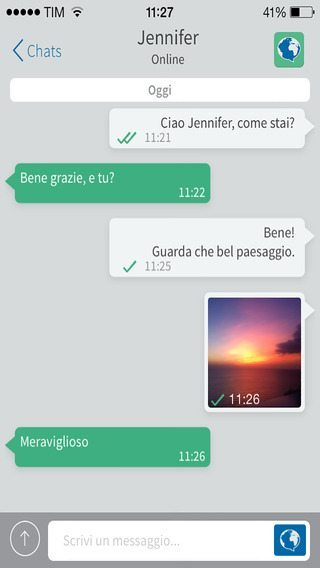 WorldMessage appliczioni per iPhone avrmagazine