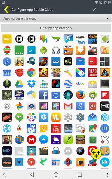 bubble cloud widgets + wear3-app per android-avrmagazine