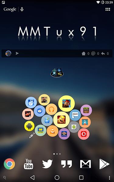 bubble cloud widgets + wear4-app per android-avrmagazine