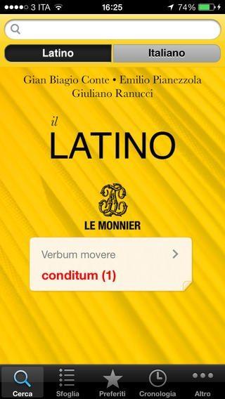 il latino applicazioni per iPhone avrmagazine 2