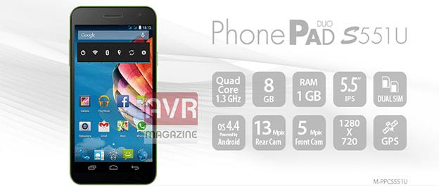 mediacom-phonepad-s551u