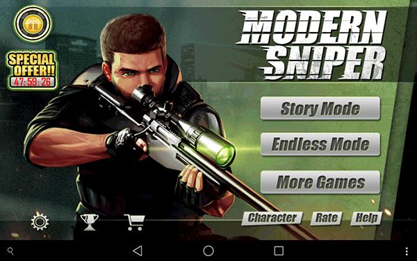 moderno cecchino2-giochi per android-avrmagazine