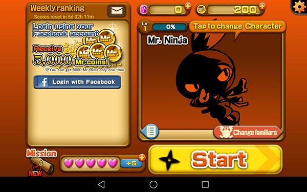 mr ninja fever2-giochi per android-avrmagazine