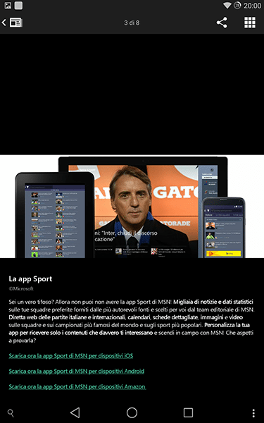 msn notizie2-app per android e ios-avrmagazine