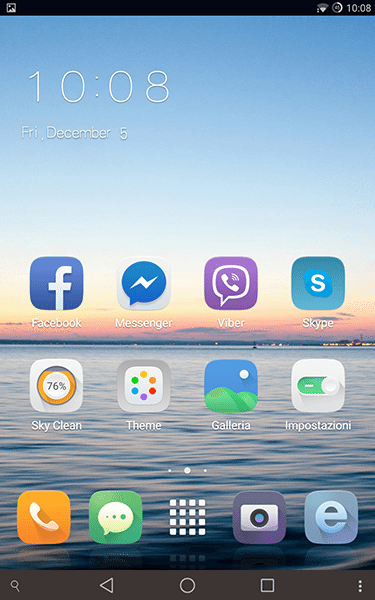 sky launcher-app per android-avrmagazine