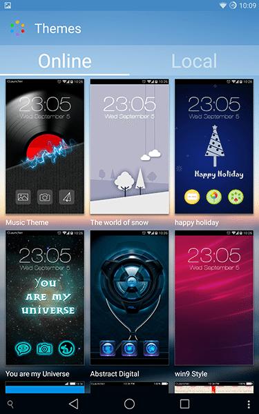 sky launcher4-app per android-avrmagazine