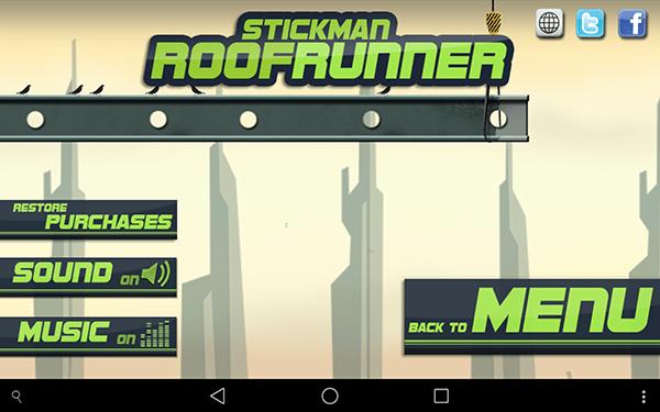 stickman roofruneer2-giochi per android e ios-avrmagazine