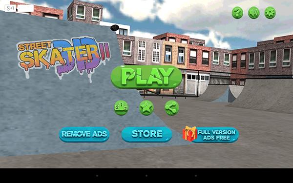 street skater 3d 2-giochi per android-avrmagazine