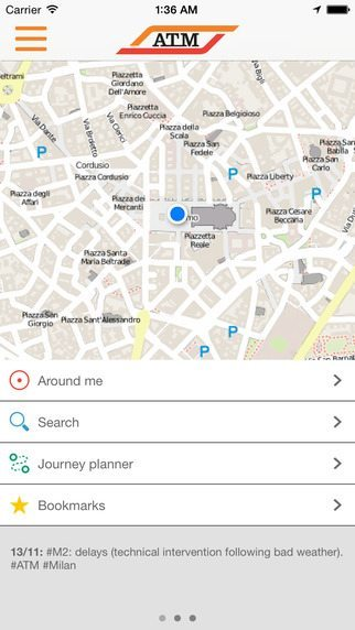 ATM Milano Official App applicazioni pe riphone avrmagazine 1
