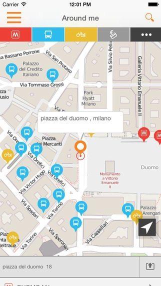 ATM Milano Official App applicazioni pe riphone avrmagazine 2
