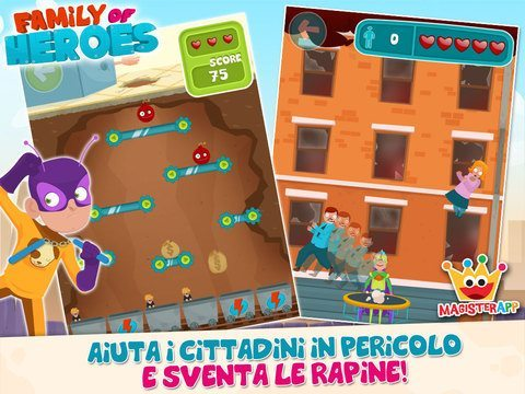 Family of Heroes giochi per iPhone avrmagazine 2