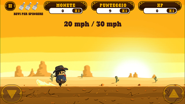 Firewater - Cowboy Dash-giochi android ios-avrmagazine