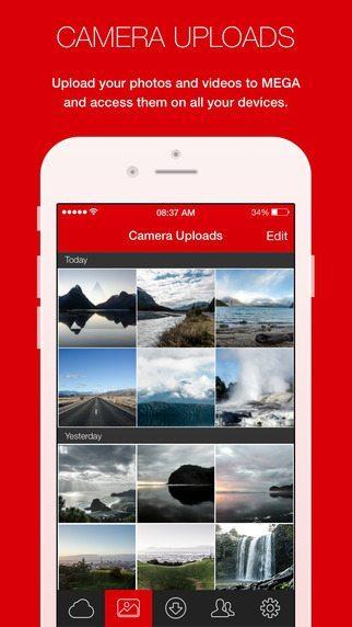 MEGA Applicazioen per iPhone avrmagazine