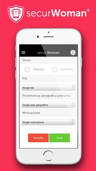 SecurWoman applicazioni per iPhone avrmagazine 2