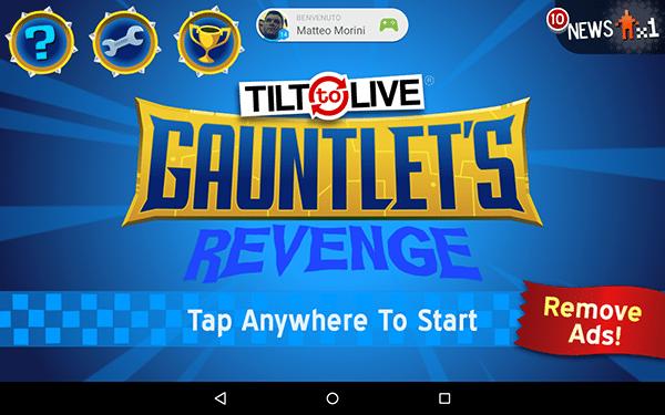 Tilt 2 Live Gauntlet's Revenge-giochi android ios-avrmagazine