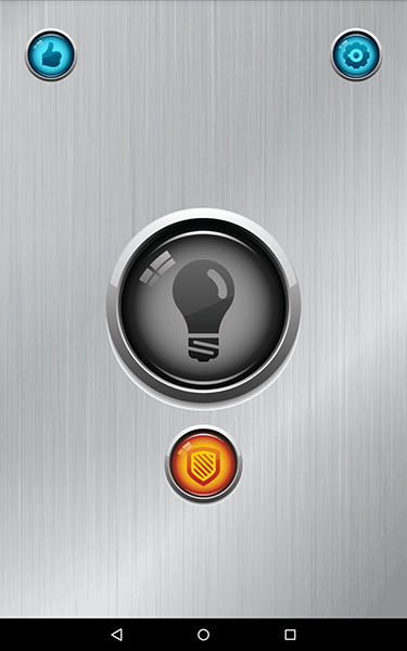 torcia tasto power-app per android-avrmagazine