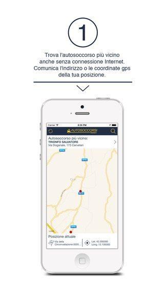 Autosoccorsi italiani applicazioni per iPhone avrmagazine 1