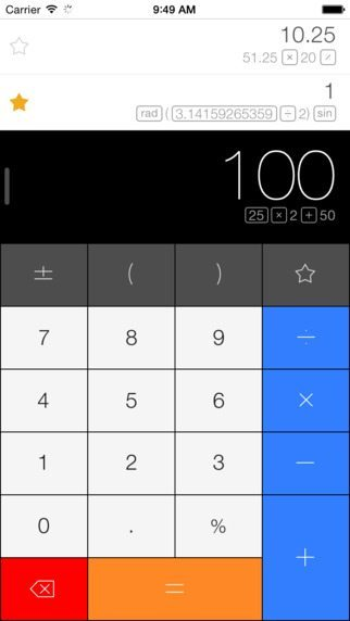 Calcbot applicazioni per iPhone avrmagazine 1