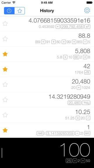 Calcbot applicazioni per iPhone avrmagazine 2