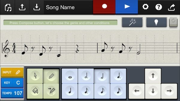 Chordana Composer applicazioni per iPhone avrmagazine 2
