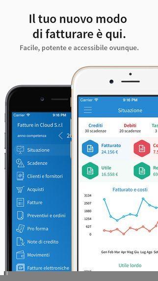 Fatture in Cloud,applicazioni per iPhone avrmagazine 1