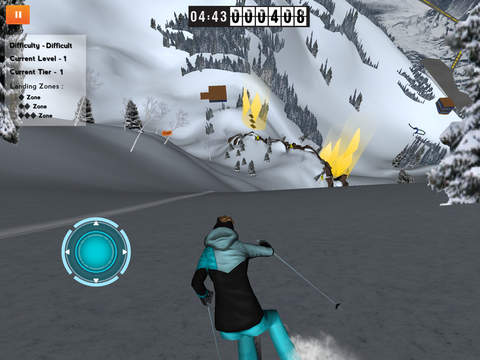 Huck It Freeride Skiing 3D giochi pe riphone avrmagazine 1