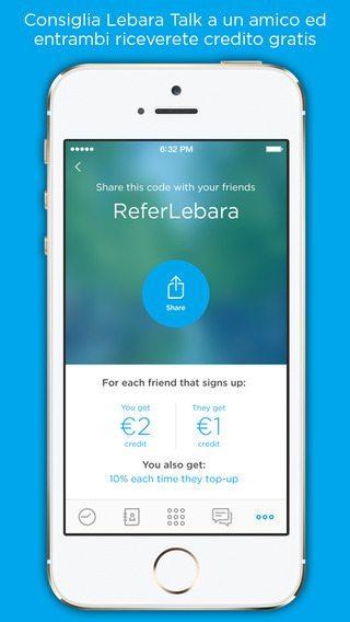 Lebara Talk applicazioni per iPhone avrmagazine 1