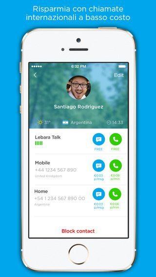 Lebara Talk applicazioni per iPhone avrmagazine 2