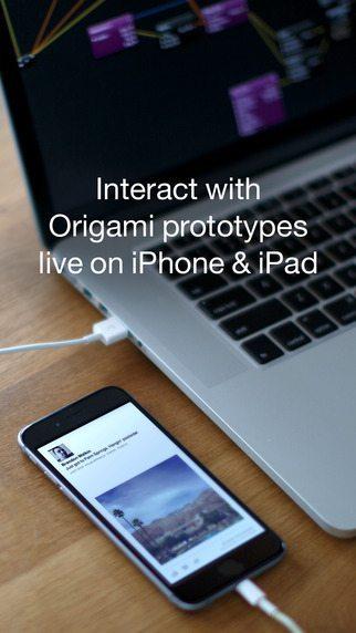Origami Live facebook app avrmagazine