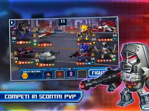 TRANSFORMERS Battle Tactics giochi per iPhone avrmagazine 2
