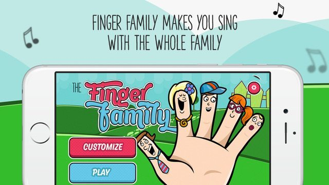 The Finger Family Song applicazioni per iPhone avrmagazine 1