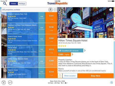 Travel Republic applicazioni per ihoen avrmagazine 2