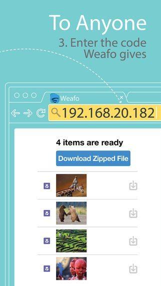 Weafo applicazioni per iPhone avrmagazine 2