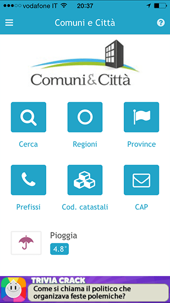 comuni città-app per ios-avrmagazine
